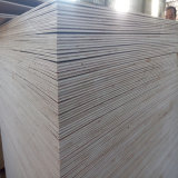 Madera contrachapada impermeable 7*3 de la cara de Okoume de la base del álamo del pegamento 11m m