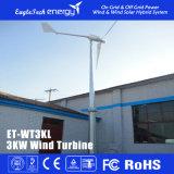 3kw 바람 발전기 바람 터빈 바람 선반 풍력 시스템