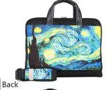 소녀 숙녀를 위한 Men PC 핸드백을%s 파란 별 하늘 휴대용 퍼스널 컴퓨터 부대 상자 수화물 통행