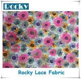 Laço floral da impressão do teste padrão da tela do laço para o pingamento das mulheres