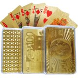 24k goldenes Playingcards