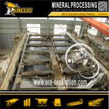 Minério do cromo do equipamento de mineração da separação de Chomite da gravidade que agita a tabela