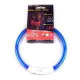 Navulbare Waterdichte Lichtgevende LEIDENE van het Silicone USB Halsband
