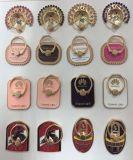 Insignias de encargo directas del automóvil de las insignias del equipo de fútbol del sostenedor del anillo del teléfono móvil del metal del precio de fábrica