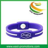 Wristband feito sob encomenda barato do silicone com logotipo Debossed