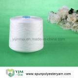 filé tourné par faisceau du polyester 20s/3 d'usine de filé