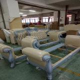 고품질 호텔 침대 룸 가구 Fb1121를 위한 방어적인 피복 직물을%s 가진 현대 디자인 부분적인 소파