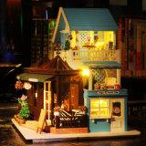 Casa de muñecas de madera popular para niños