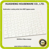 China Blank MDF Sublimation Print A3 Hardboard Jigsaw Puzzle