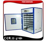 Incubadora automática disponível de 1000 ovos do termostato que choca a máquina