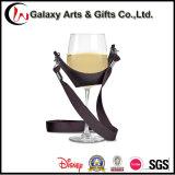 Sagola su ordinazione del supporto di vetro di vino del poliestere del PVC per il commercio