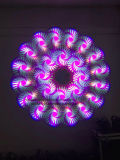 Luz principal móvil de la viga de la luz 230W 7r de la viga de la etapa (prisma 16+8 en 1 con los gobos de cristal)