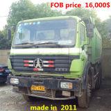 中国の本土の左手駆動機構のダンプカートラック