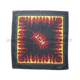 Vente en gros Custom Paisley Traditionnel Impression Square Cotton Bandana As Bag Accessory