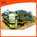 子供の遊園地の屋内運動場