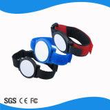 125kHz Wristband di nylon di facile impiego del braccialetto RFID