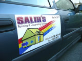 Высокомарочные магниты двери автомобиля и магнитные знаки с Full-Color печатание