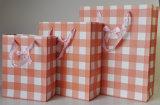 Коробка несущей покупкы OEM Handmade цветастая бумажная
