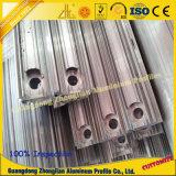 Perfil de extrusão de alumínio em alumínio com usinagem CNC