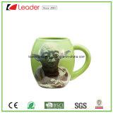 Nueva taza de café de cerámica 2017 con los carácteres populares de la película
