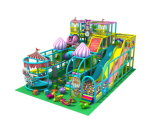 Juego suave de interior de la diapositiva de los juegos de los cabritos del equipo plástico del patio