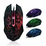 Мышь разыгрыша компьютера 7 цветов освещенная СИД светящая