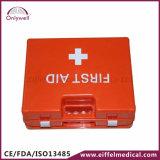 Rectángulo médico Emergency de los primeros auxilios de la fábrica plástica del lugar de trabajo del ABS