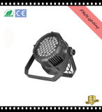 IP65 LED imperméable à l'eau LED PAR peut 48PCS 3W Rgbwy + UV 6-en-1 LED pour grands concerts, TV Studio