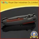 Commerci all'ingrosso che piegano la lama tattica di sopravvivenza delle lame di caccia della lama (RYST0059C)