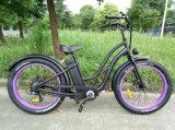 2016 Strand-Kreuzer-Typ fetter Gummireifen-elektrisches Fahrrad 36V 250With350With500W für europäische Regelung anerkanntes En15194