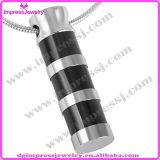 Ijd2163 comerciano il pendente all'ingrosso poco costoso di cremazione dell'acciaio inossidabile del cilindro della banda