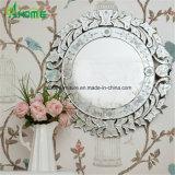 Espejo redondo veneciana tallada por mayor