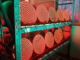 높은 유출 가득 차있는 공 300mm LED 황색 번쩍이는 신호등 모듈