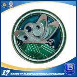 昇進(Ele-C017)のためのカスタム柔らかいエナメルの円形の硬貨