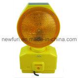 Bernsteinfarbiger Solarbarrikade-Licht-Verkehrs-Warnleuchte des blinker-LED