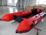 合板の床(FWS-M380)が付いている膨脹可能な漕艇