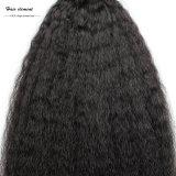 Волосы 100% девственницы выдвижения человеческих волос естественные бразильские