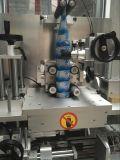 Automatische Zelfklevende Twee Partijen die Machine voor Ronde Flessen etiketteren