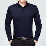2016 conçoivent neuf la chemise de polo mince de type d'affaires de la forme physique des hommes