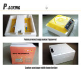 Hhd transparente Wachtel-Ei-Inkubatoren für das Ausbrüten von 132 Wachtel-Eiern