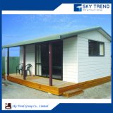 Hogar modular prefabricado de la sala de estar del bajo costo