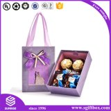 Laser-Schnitt-Papier-Entwurfs-Hochzeits-Schokoladen-Süßigkeit-Kasten