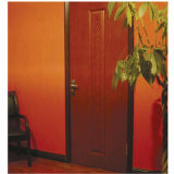Porte stratifiée colorée de HDF (porte de HDF)