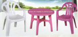 Plastic esterno Table e Chair Set (LL-CFT009)