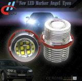 Olhos do anjo do marcador E87 E60 do diodo emissor de luz de E39 60W 12LED para o farol E61 E63 do carro
