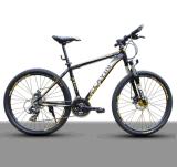 """26 """"アルミ合金のバイクフレームが付いている24台の速度山の自転車"""