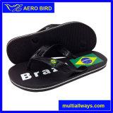 Pistone delle calzature del PE di cadute di vibrazione di Personlized della stampa della bandierina di Braizl (003-BLACK)