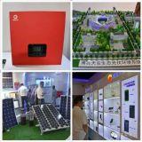 태양 충전기 6000mAh는 USB Powerbank LED 빛을%s 가진 이중으로 한다