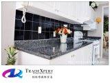 Bancada de pedra natural do granito da pérola azul para a cozinha