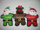 新しいクリスマスペットトイドッグのおもちゃ赤いペットおもちゃ